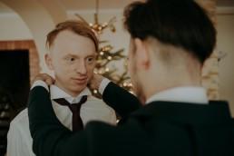 Zimowy ślub - Ania i Denis - Ślub w Tułowicach, Wesele w Hotelu Arkas 5