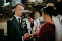 Zimowy ślub - Ania i Denis - Ślub w Tułowicach, Wesele w Hotelu Arkas 29
