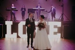 Zimowy ślub - Ania i Denis - Ślub w Tułowicach, Wesele w Hotelu Arkas 46