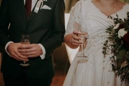 Zimowy ślub - Ania i Denis - Ślub w Tułowicach, Wesele w Hotelu Arkas 47