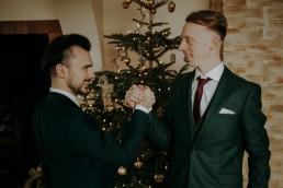Zimowy ślub - Ania i Denis - Ślub w Tułowicach, Wesele w Hotelu Arkas 11