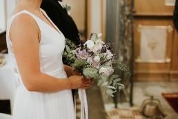 rustykalny bukiet ślubny