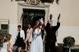 gołębie na ślub