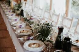 dekoracja rustykalna talerzy