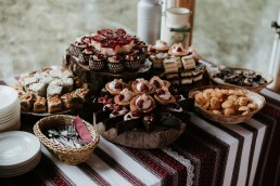 swojskie jedzenie ślub