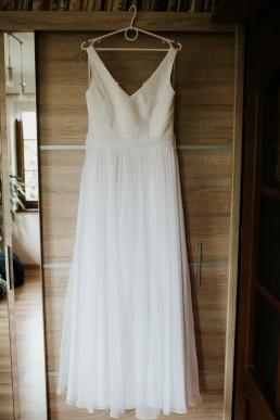 rustykalna suknia ślubna na zamówienie