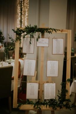 opis stołów na wesele