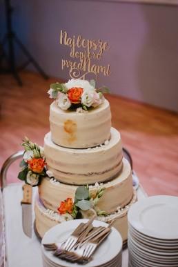 tort diy na wesele