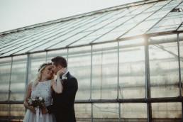 zdjęcia ślubne w szklarni