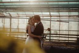 ślub w szklarni