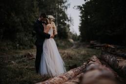 leśny fotograf ślubny
