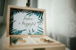 Jessi & Krzysiek - egzotyczna sesja w gliwickiej palmiarni 7