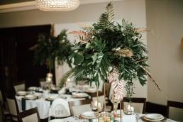 tropikalne dekoracje ślubne