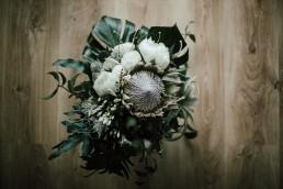tropikalny bukiet ślubny
