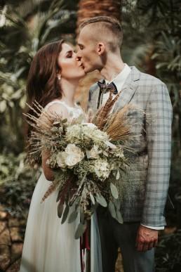 ślub w palmiarni