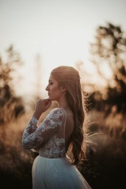 Ania i Łukasz - górski jesienny plener przy zachodzącym słońcu 7