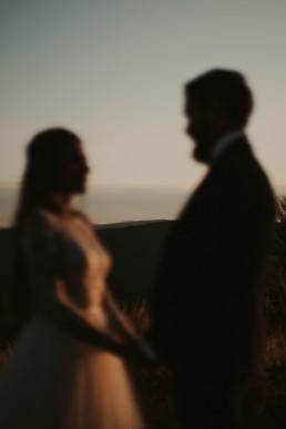 Ania i Łukasz - górski jesienny plener przy zachodzącym słońcu 10