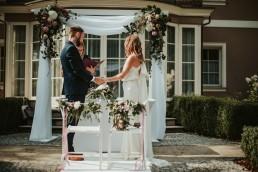 ślub w zamku topacz