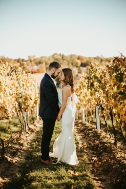 Sesja ślubna w winnicy
