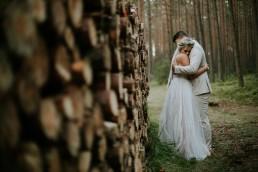 plener ślubny w lesie pod Opolem