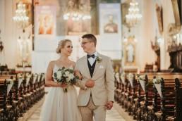 ślub w kościele w otmuchowie