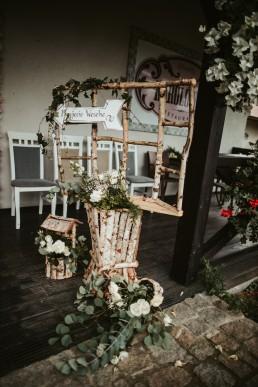 karolówka wesele dekoracja