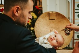 Fotograf na chrzest Nysa - obiad rodzinny w Kazamatach 10
