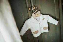 ubranko na chrzest chłopca
