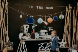 przyjęcie urodzinowe to the moon