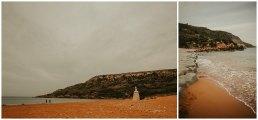 Gozo pomarańczowa plaża