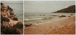 Ramla Bay pomarańczowa plaża
