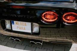 Auto do ślubu Corvette