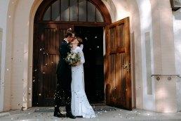 lawenda na wyjście po ślubie