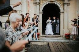 wstążki ślubne