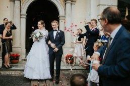 wstążki na ślub